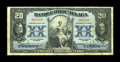 Canadian Currency: , Montreal, PQ- Banque D'Hochelaga $20 Jan. 2, 1917 Ch. # 360-24-18....