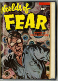 Golden Age (1938-1955):Horror, Worlds of Fear #8-10 Bound Volume (Fawcett, 1953)....