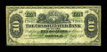 Canadian Currency: , Montreal, PQ- The Consolidated Bank of Canada $10 July 1, 1876 Ch. # 205-10-06. ...