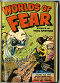 Golden Age (1938-1955):Horror, Worlds of Fear #5-7 Bound Volume (Fawcett, 1952)....