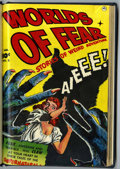 Golden Age (1938-1955):Horror, Worlds of Fear #2-4 Bound Volume (Fawcett, 1952)....