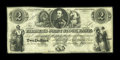 Canadian Currency: , Toronto, UC- The Farmer's Joint Stock Banking Company $2 Feb. 1,1849 Ch. # 280-14-02-04. ...