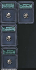 Proof Roosevelt Dimes: , Multiple Coin Lot...