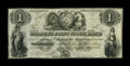 Canadian Currency: , Toronto, UC- The Farmer's Joint Stock Banking Company $1 Feb. 1,1849 Ch. # 280-14-02-02. ...