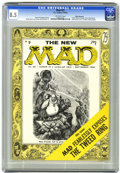 Magazines:Mad, Mad #25 White Mountain pedigree (EC, 1955) CGC VF+ 8.5 Off-white pages....