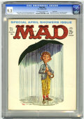 Magazines:Mad, Mad #63 Pacific Coast pedigree (EC, 1961) CGC NM- 9.2 Off-white towhite pages....