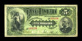 Canadian Currency: , Hamilton, ON- The Bank of Hamilton $5 June 1, 1892 Ch. #345-16-02a. ...