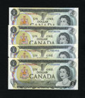 Canadian Currency: , BC-46a $1 1973 Three Examples. BC-46aA $1 1973.. ... (Total: 4notes)