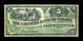 World Paper Money: , Toronto, ON- The Farmers Bank of Canada $5 Sept. 1, 1908 Ch. # 270-10-04. ...