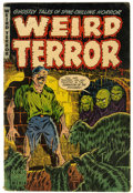 Golden Age (1938-1955):Horror, Weird Terror #1 (Comic Media, 1952) Condition: VG-....