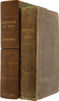 Books:First Editions, [Charles Dickens]. Sketches by Boz Illustrative of Every-DayLife and Every-Day People. With Forty Illustrations... (Total:2 Items)