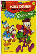 Bronze Age (1970-1979):Cartoon Character, Walt Disney Showcase #18 Signed by Carl Barks (Gold Key, 1973)Condition: NM-....