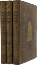 Books:First Editions, Charles Dickens. Master Humphrey's Clock. London: Chapmanand Hall, 1840-1841. First edition in book form.... (Total: 3Items)