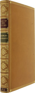 Books:First Editions, Charles Dickens. A Tale of Two Cities. With Illustrations byH. K. Browne. London: Chapman and Hall, 1859....