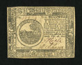 Colonial Notes:Continental Congress Issues, Continental Currency February 26, 1777 $6 Extremely Fine-AboutNew....