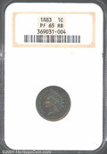 Proof Indian Cents: , 1883 1C, RB