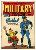 "Golden Age (1938-1955):War, Military Comics #41 Davis Crippen (""D"" Copy) pedigree (Quality,1945) Condition: FN+...."