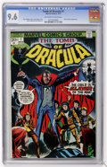 Bronze Age (1970-1979):Horror, Tomb of Dracula #7 (Marvel, 1973) CGC NM+ 9.6 Off-white to whitepages....
