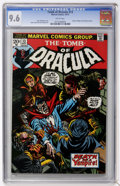 Bronze Age (1970-1979):Horror, Tomb of Dracula #13 (Marvel, 1973) CGC NM+ 9.6 White pages....