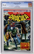 Bronze Age (1970-1979):Horror, Tomb of Dracula #16 (Marvel, 1974) CGC NM+ 9.6 White pages....