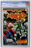 Bronze Age (1970-1979):Horror, Tomb of Dracula #22 (Marvel, 1974) CGC NM 9.4 White pages....
