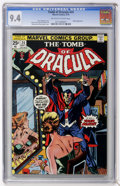 Bronze Age (1970-1979):Horror, Tomb of Dracula #24 (Marvel, 1974) CGC NM 9.4 Off-white to whitepages....