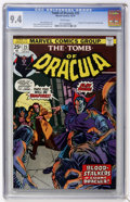 Bronze Age (1970-1979):Horror, Tomb of Dracula #25 (Marvel, 1974) CGC NM 9.4 White pages....
