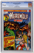 Bronze Age (1970-1979):Horror, Werewolf by Night #7 (Marvel, 1973) CGC NM+ 9.6 White pages....