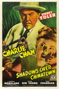 "Shadows Over Chinatown (Monogram, 1946). One Sheet (27"" X 41"")"