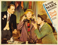 "Movie Posters:Comedy, Duck Soup (Paramount, 1933). Lobby Card (11"" X 14"")...."