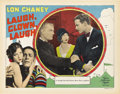 "Movie Posters:Drama, Laugh, Clown, Laugh (MGM, 1928). Lobby Card (11"" X 14"")...."
