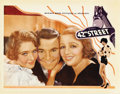 "Movie Posters:Musical, 42nd Street (Warner Brothers, 1933). Lobby Card (11"" X 14"")...."