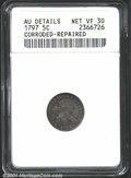 Early Half Dimes: , 1797 H10C