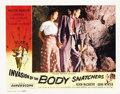 "Movie Posters:Science Fiction, Invasion of the Body Snatchers (Allied Artists, 1956). Lobby Cards(2) (11"" X 14"").... (Total: 2 Items)"