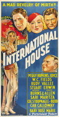 "Movie Posters:Comedy, International House (Paramount, 1933). Australian Three Sheet (40""X 80"")...."