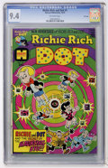 Bronze Age (1970-1979):Cartoon Character, Richie Rich and Dot #1 File Copy (Harvey, 1974) CGC NM 9.4Off-white pages....