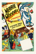 "Movie Posters:Animated, Merrie Melodies (Warner Brothers, 1941-1942). Stock One Sheet (27""X 41"")...."