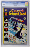 Bronze Age (1970-1979):Cartoon Character, Casper's Ghostland #67 File Copy (Harvey, 1972) CGC NM 9.4Off-white to white pages....