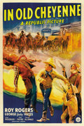 """Movie Posters:Western, In Old Cheyenne (Republic, 1941). One Sheet (27"""" X 41"""")...."""