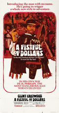 "Movie Posters:Western, A Fistful of Dollars (United Artists, 1967). Three Sheet (41"" X81"")...."