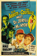 """Movie Posters:Comedy, Abbott and Costello Meet Dr. Jekyll and Mr. Hyde (UniversalInternational, 1953). One Sheet (27"""" X 41"""")...."""