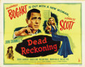 "Movie Posters:Film Noir, Dead Reckoning (Columbia, 1947). Half Sheet (22"" X 28"") Style A...."