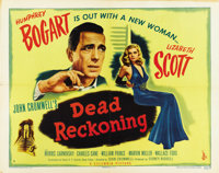 """Dead Reckoning (Columbia, 1947). Half Sheet (22"""" X 28"""") Style A"""
