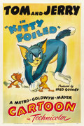 "Movie Posters:Animated, Kitty Foiled (MGM, 1948). One Sheet (27"" X 41"")...."