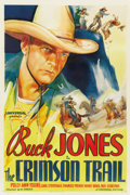 "Movie Posters:Western, The Crimson Trail (Universal, 1935). One Sheet (27"" X 41"")...."