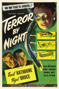 "Movie Posters:Mystery, Terror by Night (Universal, 1946). One Sheet (27"" X 41"")...."