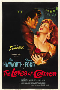 """The Loves of Carmen (Columbia, 1948). One Sheet (27"""" X 41"""")"""