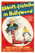 """Movie Posters:Comedy, Abbott and Costello in Hollywood (MGM, 1945). One Sheet (27"""" X41"""")...."""