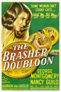 "Movie Posters:Crime, The Brasher Doubloon (20th Century Fox, 1946). One Sheet (27"" X41"")...."