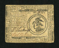 Colonial Notes:Continental Congress Issues, Continental Currency May 10, 1775 $3 Very Fine-Extremely Fine....